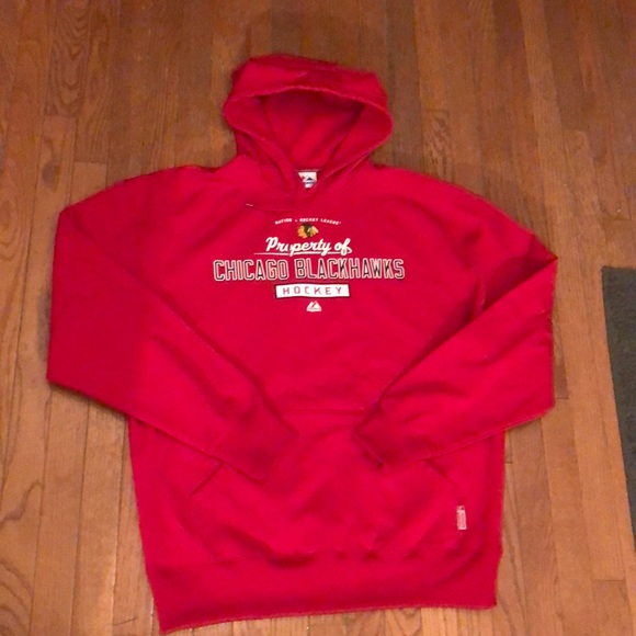 the best attitude 0cf2d 9b64f New! Men's Majestic Chicago Blackhawks Hoodie XL